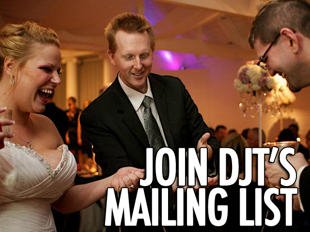Join DJT's Mailing List
